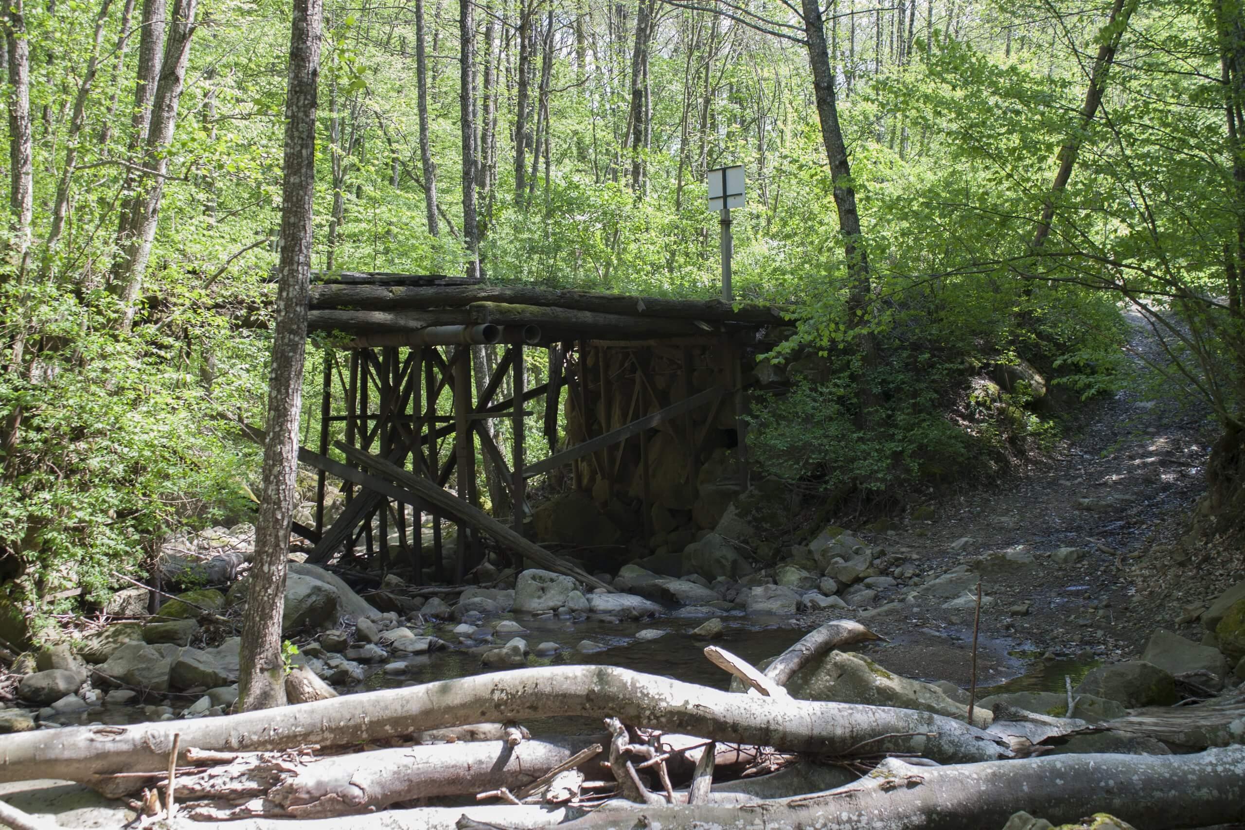 Мост через Красный Ерик