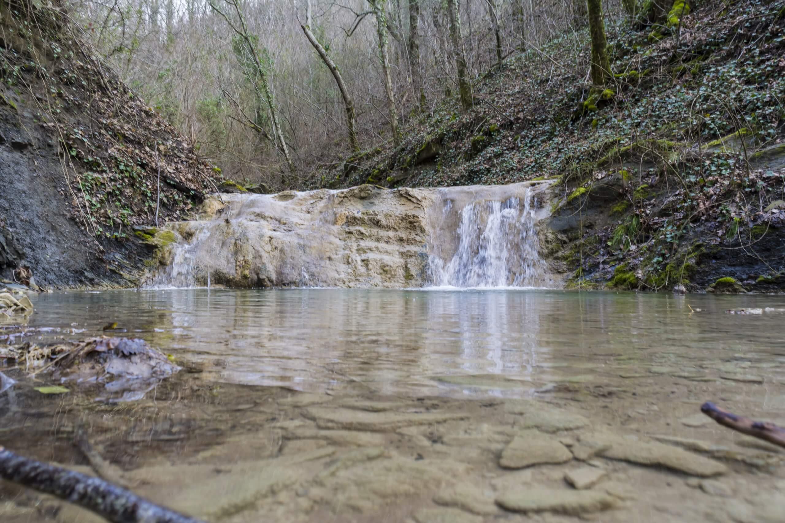 2х метровый водоскат