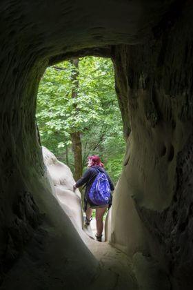 Вид из коридора на выход