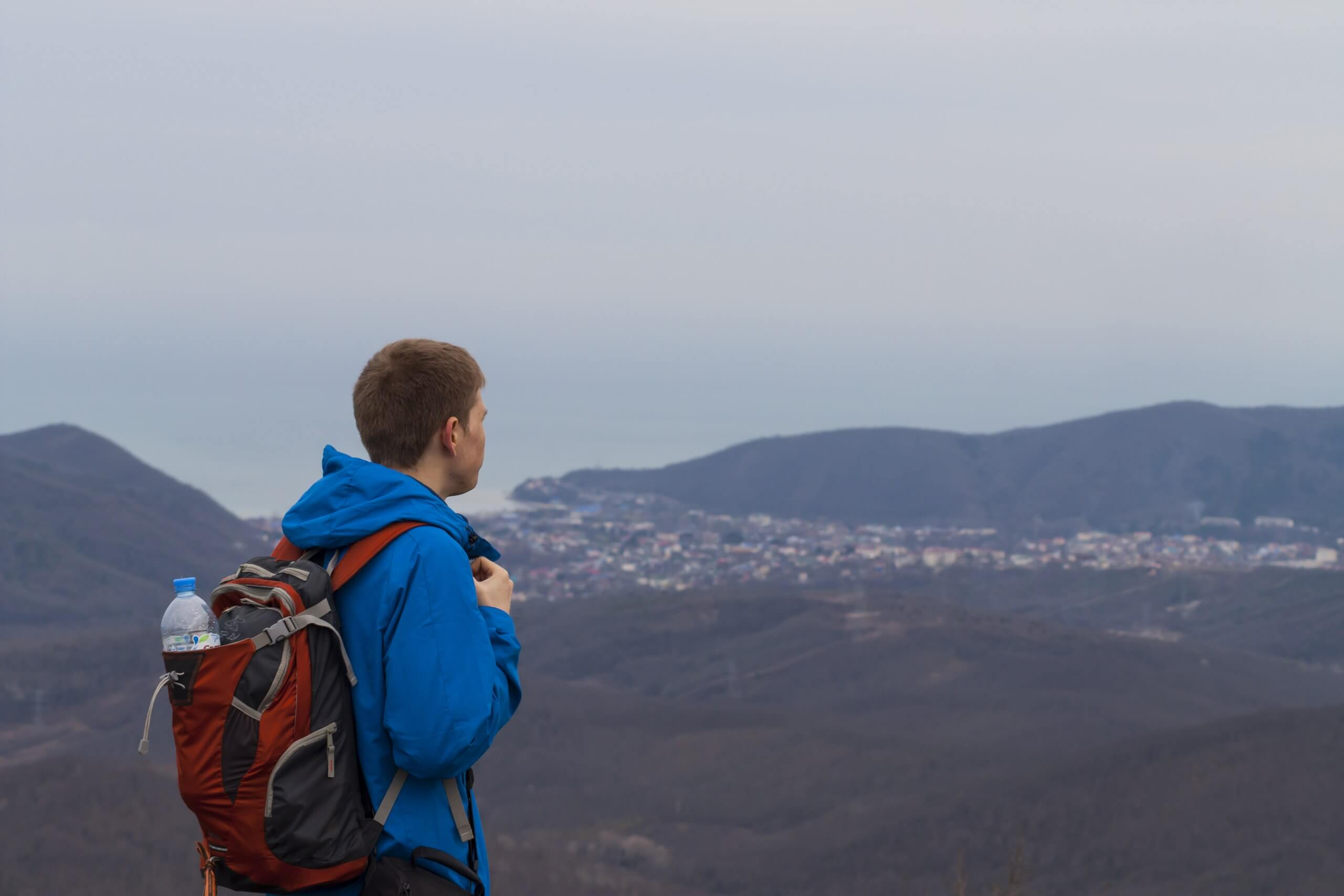 Панорама с вершины горы Лысая