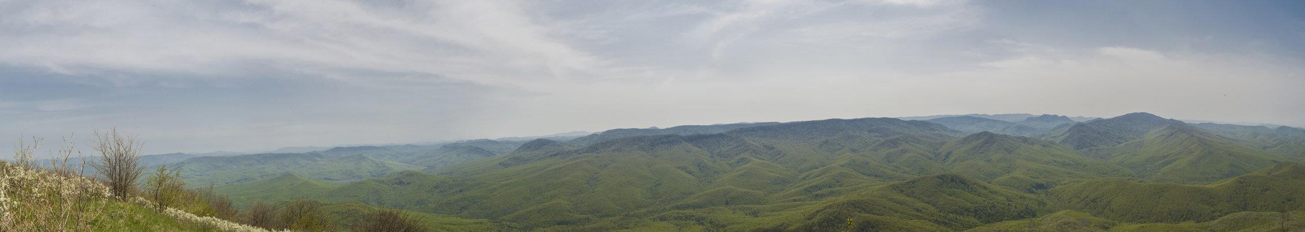 Вид с южной стороны горы