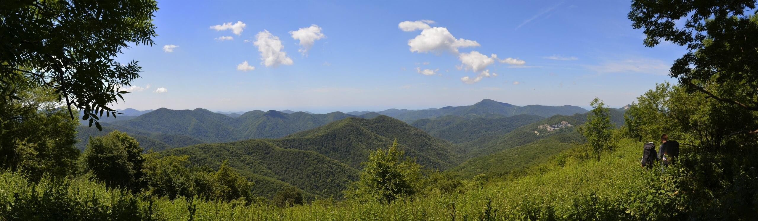 Панорама с Иванково поляны