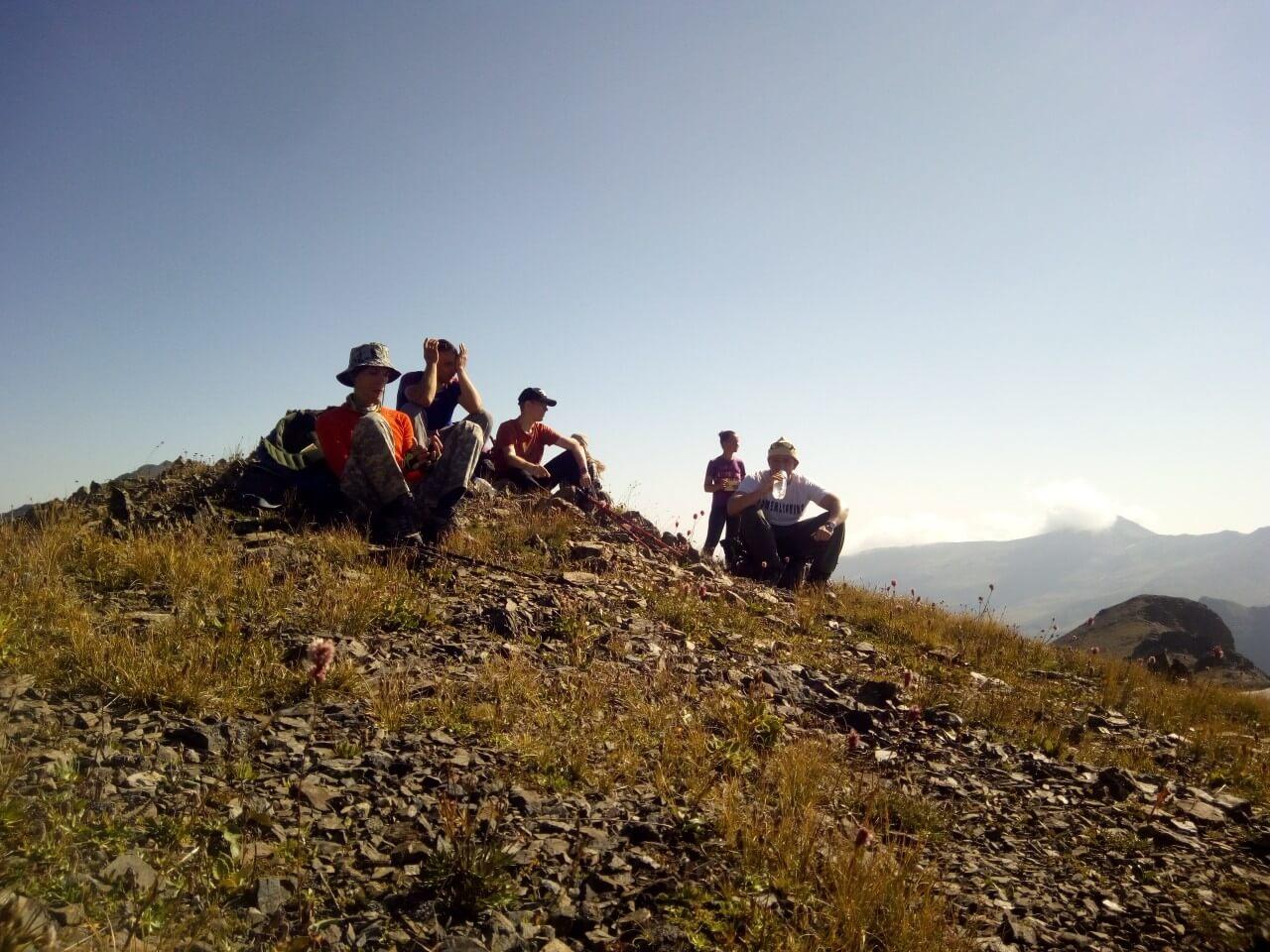 Склон горы Речепста