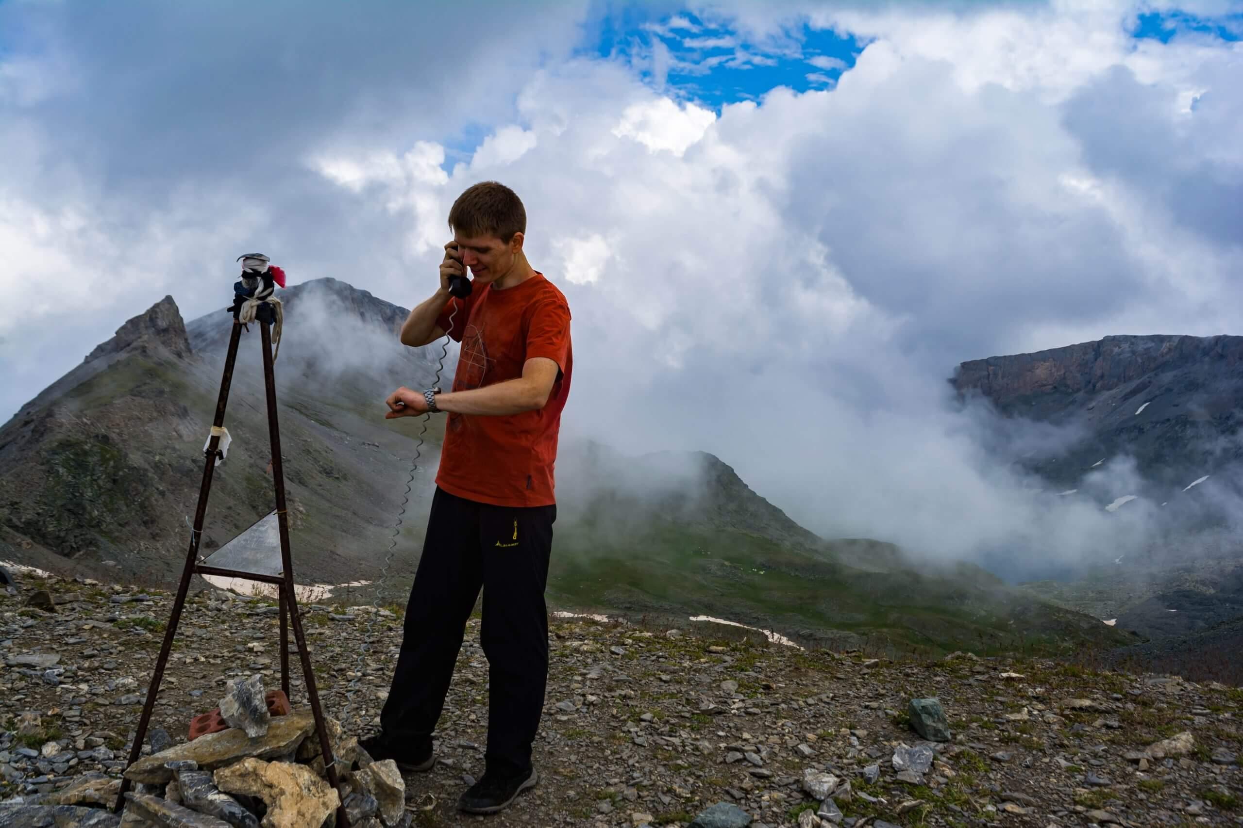 Перевал Федосеева (1 А, 2880 м)