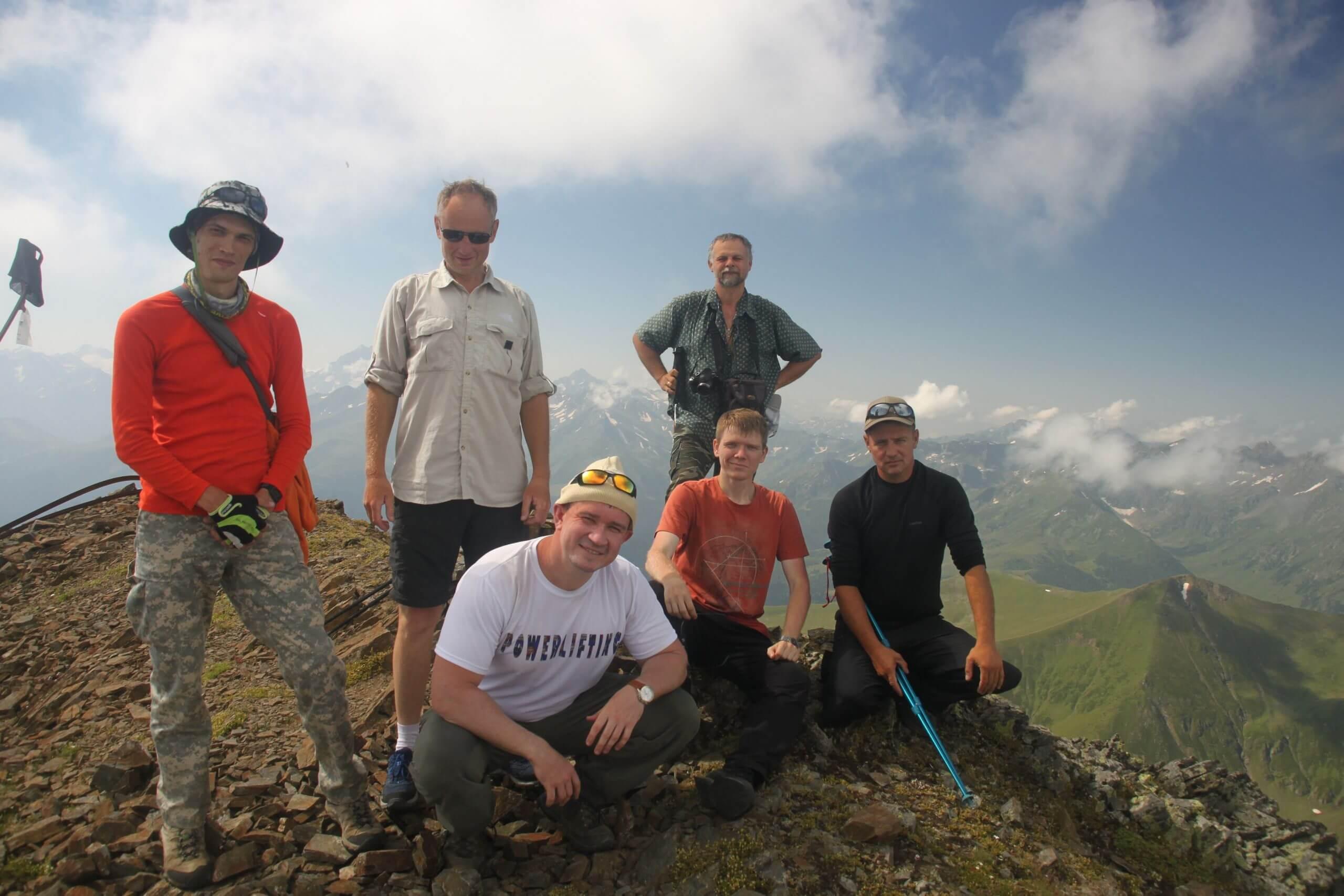 Вершина горы Речепста