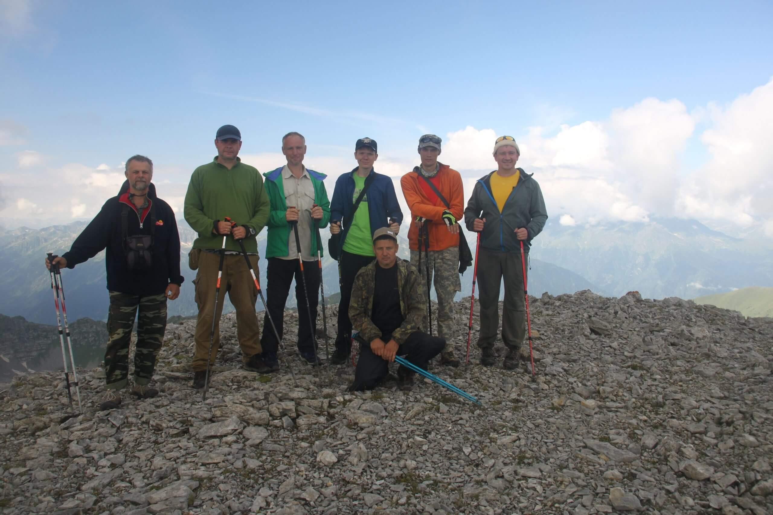 Вершина Горы Седая