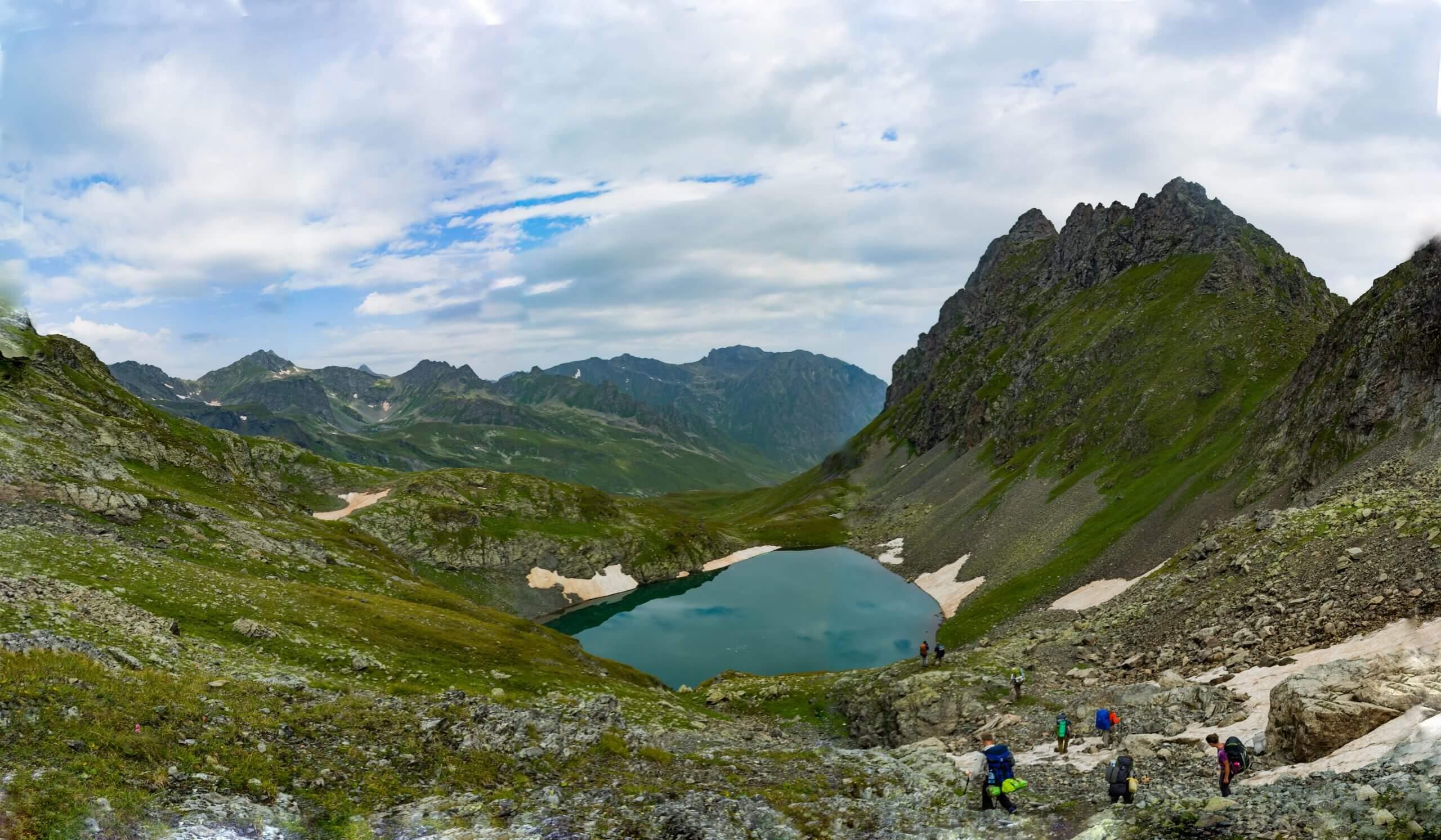 Перевал Мылгвал(1 А, 2848 м)