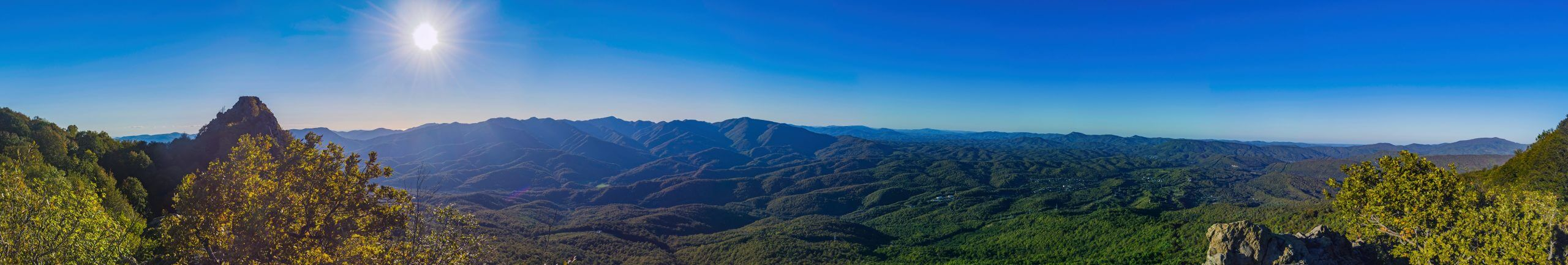 Панорама со скалы Индюшонок