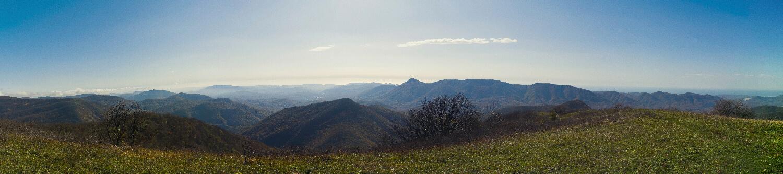 Панорама с горы Казачья
