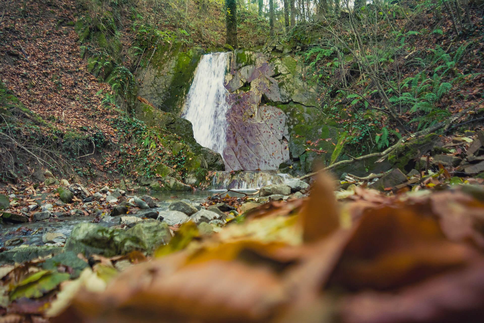 Четвертый водопад на реке Грязной