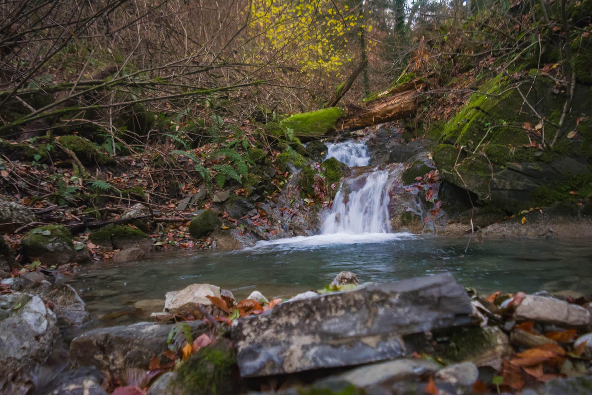 Пятый водопад на реке Грязной