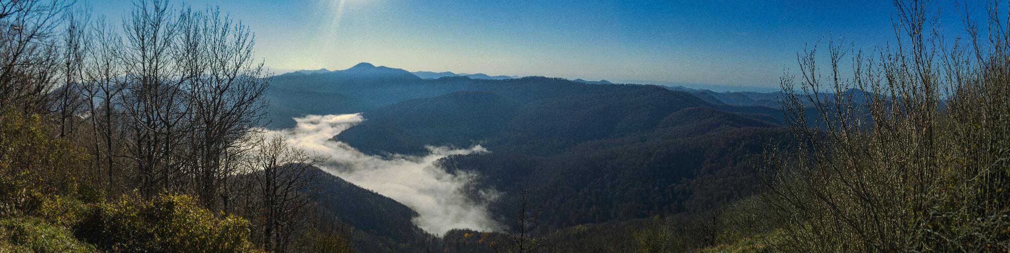 Панорама на восток с горы Псиф