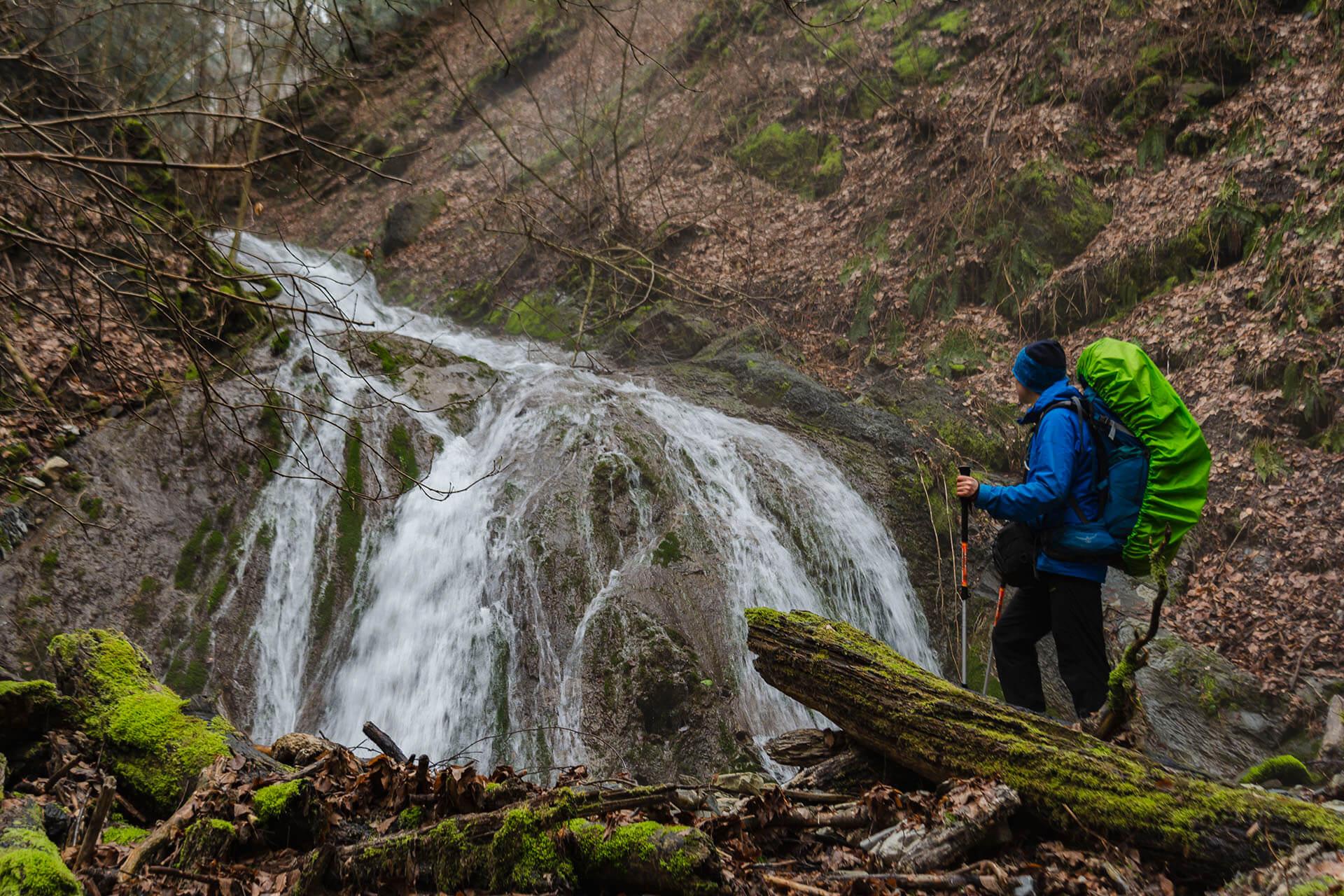Шестой водопад на реке Грязной