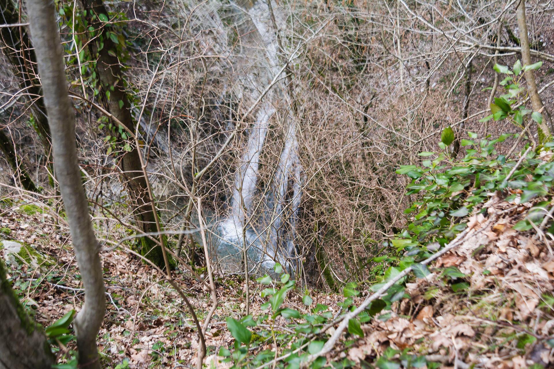 Верхний водопад реки Хошепс