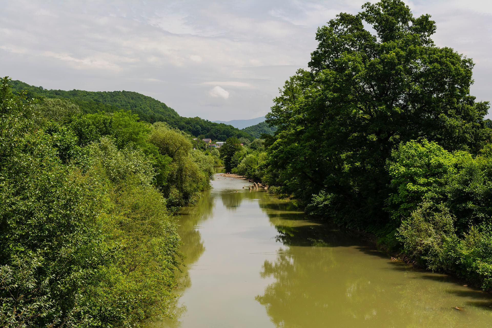 Река Туапсе