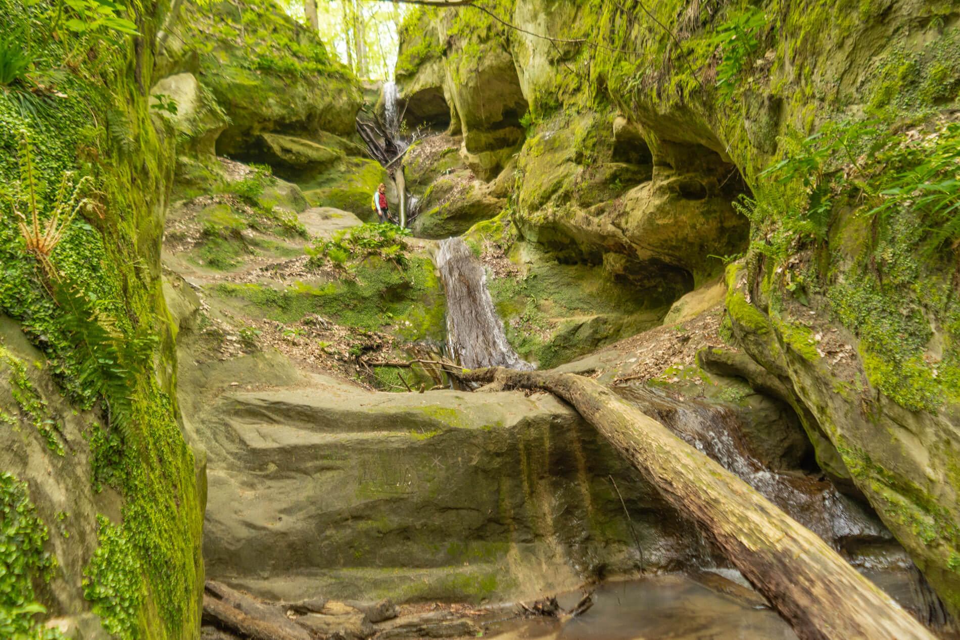 Водопад Пасть Дьявола (Псечиако)