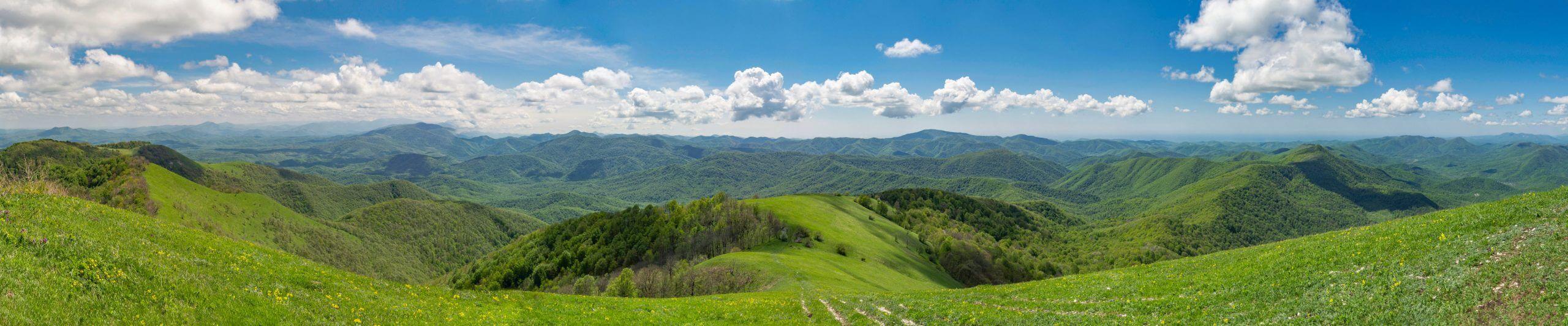 Панорама с горы Почепсуха