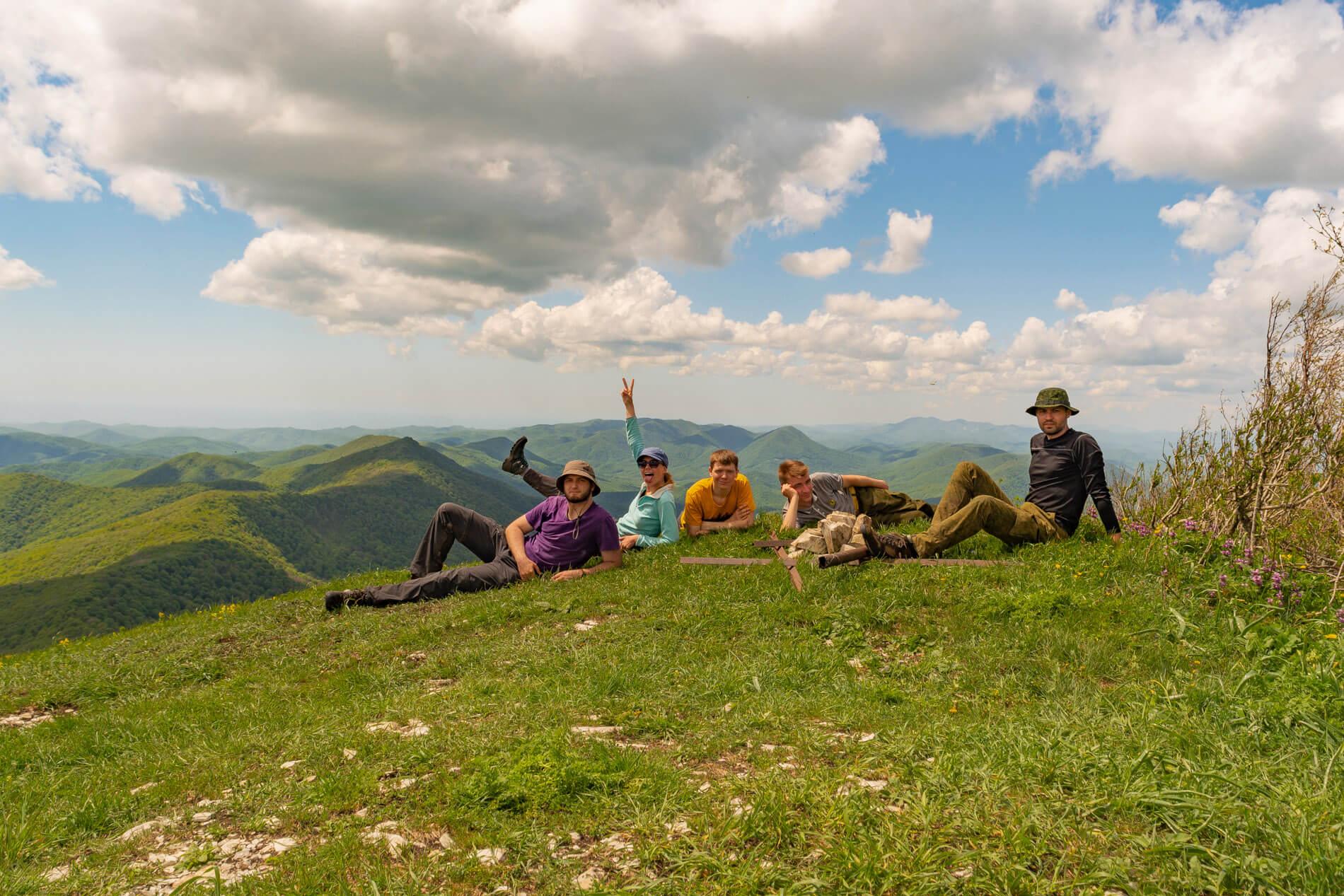 Вершина горы Почепсуха