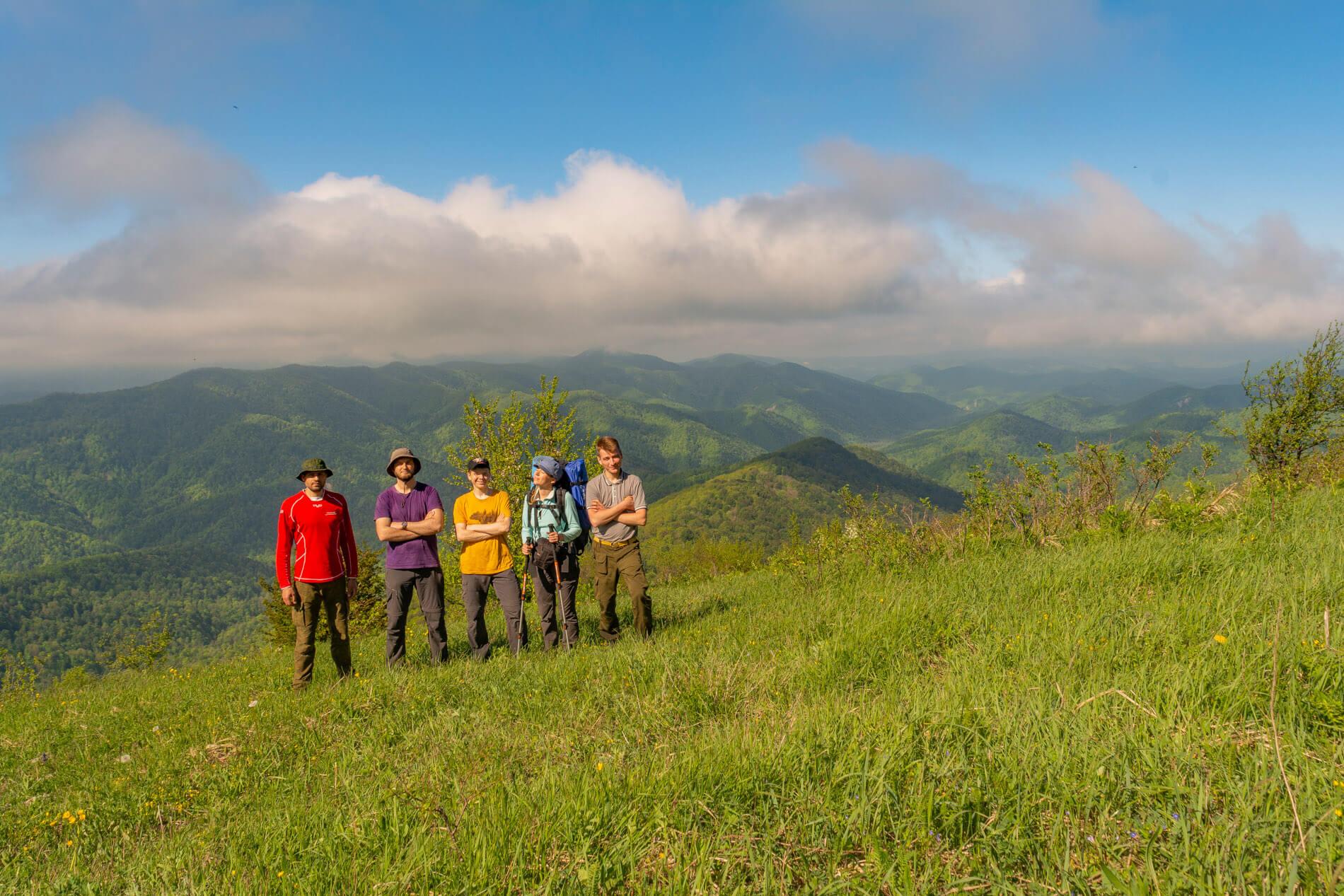 Вершина горы Фаше