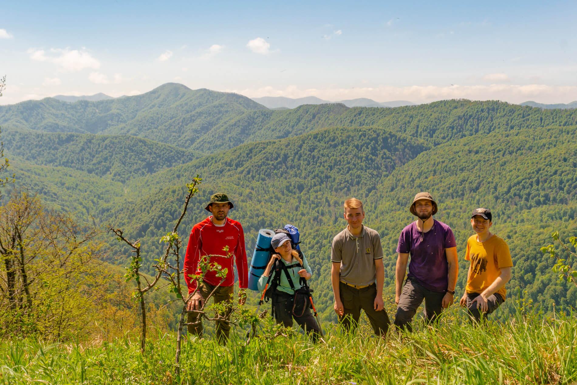Вершина горы Псиф