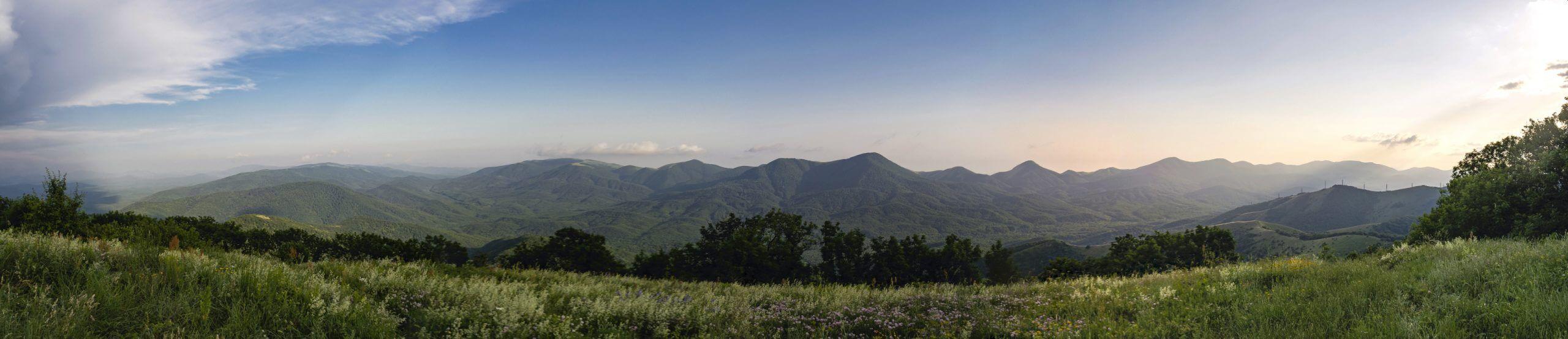 Панорама с горы Свинцовая
