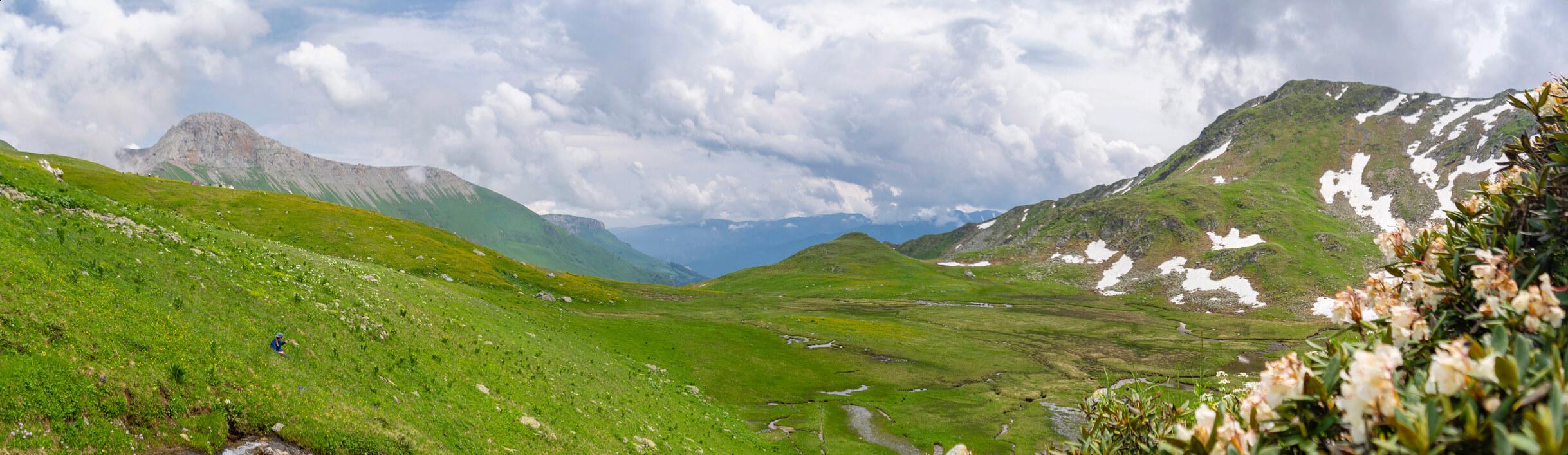 Долина реки Большой Блыб