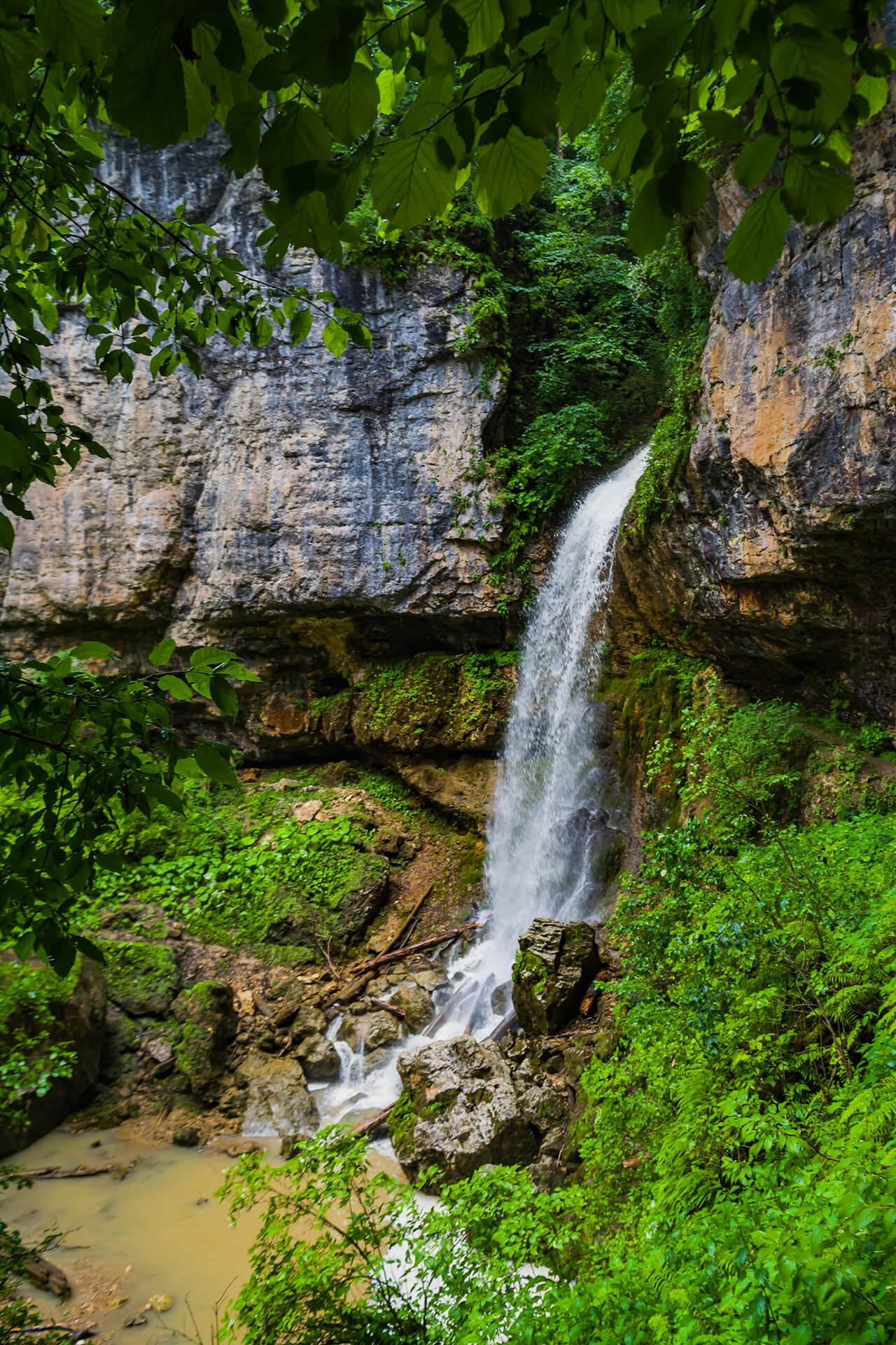 Летний Университетский водопад
