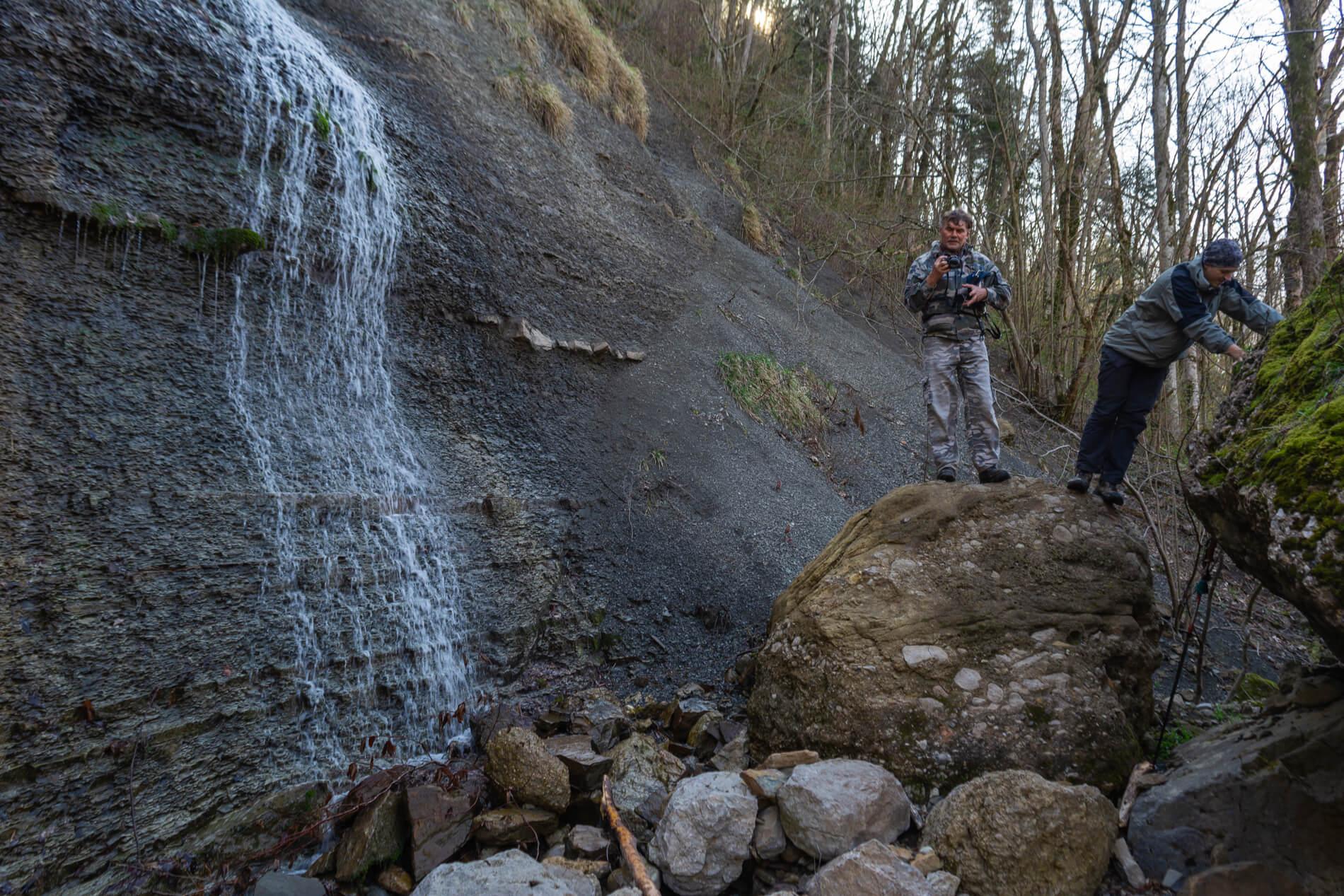 Водопад Парковый